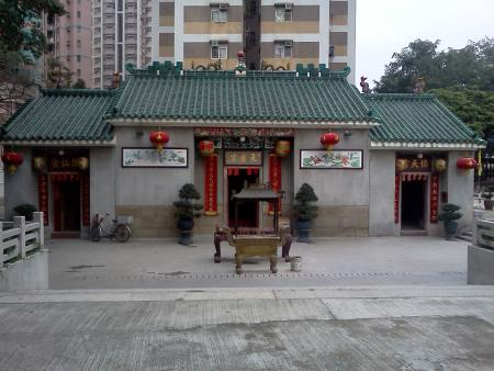 Tai Po Tin Hau Temple.